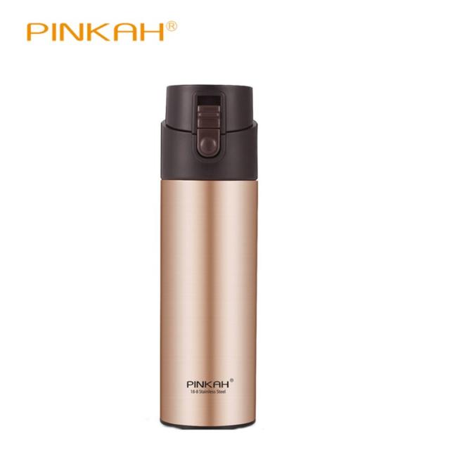PINKAH Thermos 530ml Bottiglia Con Il Filtro del Tè Boccetta di Vuoto A Tenuta Stagna In Acciaio Inox Latte Grande Capacità di Viaggio Tazza Termica