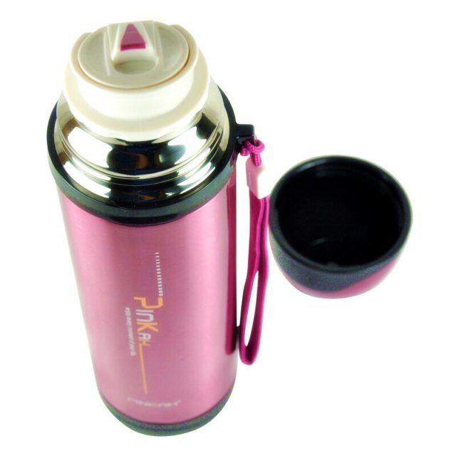 PINKAH Thermos In acciaio inox A Doppia Parete Tazza Termica Tazza di Corsa Bottiglia di Acqua della Tazza di Vuoto Scuola Home Office Tazza di Caffè 500ML